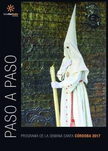 """Cartel de """"Paso a Paso"""" del año 2.017 y portada del programa de mano."""